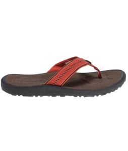 Rafters Gust Zip Up Sandals Burnt Orange